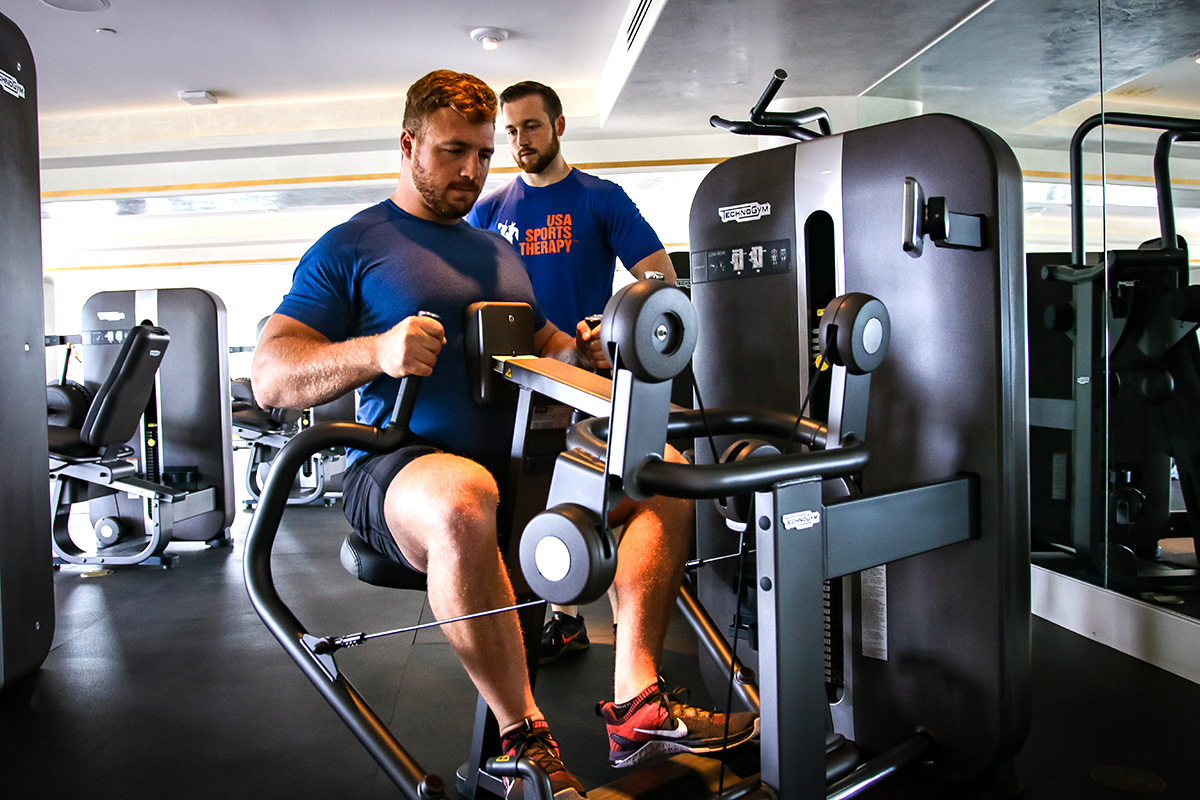 Our Sports Therapists implement the latest in corrective exercises for any injury. If you're in pain from an injury, receive the treatment you need. Contact USA Sports Therapy | Aventura at 786.320.7705 today.